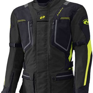 HELD ZORRO TEXTILE JACKET BLACK FLURO