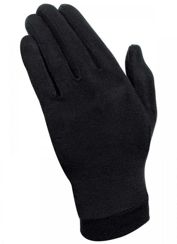 10_00213200001-HELD SILK UNDER GLOVES BLACK