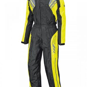 HELD FLOOD WATERPROOF OVER SUIT BLACK FLURO TUMMY SIZE