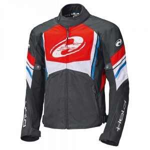 HELD BAXLEY TEXTILE JACKET BLACK RED BLUE