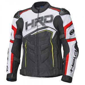 HELD SAFER SRX TEXTILE JACKET BLACK WHITE RED