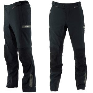 RICHA ATLANTIC PRO GORETEX TEXTILE TROUSERS BLACK STANDARD LEG