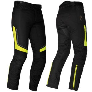 RICHA COLORADO LADY TEXTILE TROUSERS BLACK FLURO STANDARD LEG
