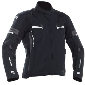 RICHA ARC PRO GORETEX TEXTILE JACKET BLACK