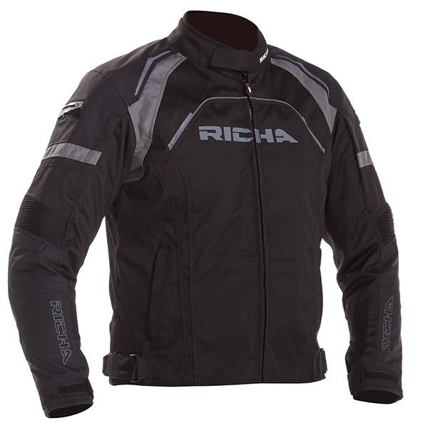 15866-082_falc2_bk_a-1-3-600-RICHA FALCON 2 TEXTILE JACKET BLACK
