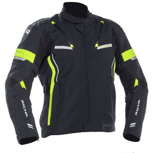 RICHA ARC PRO GORETEX TEXTILE JACKET BLACK FLURO