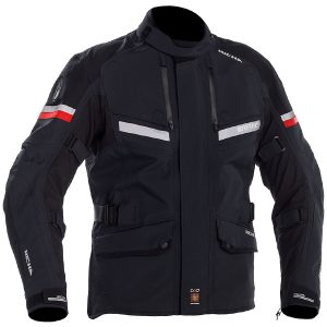 RICHA ATLANTIC PRO GORETEX TEXTILE JACKET BLACK