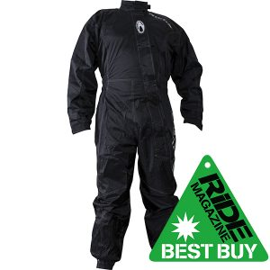 RICHA TYPHOON WATERPROOF OVER SUIT BLACK