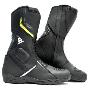 RICHA VORTEX BOOTS WATERPROOF BLACK FLURO