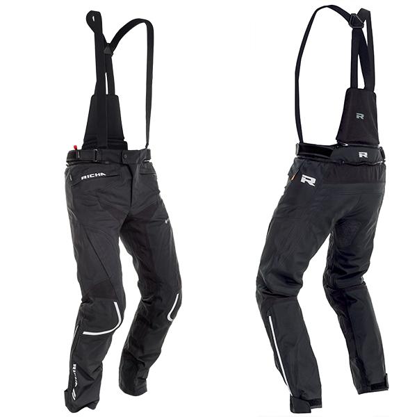 17313-082_arcpst_bk-1-3-600-RICHA ARC GORETEX GTX TEXTILE TROUSERS BLACK STANDARD LEG