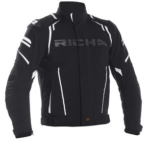 RICHA IMPACT TEXTILE JACKET BLACK