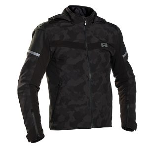 RICHA STEALTH URBAN HOODIE JACKET BLACK