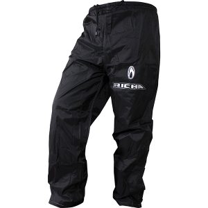 RICHA RAIN WARRIOR WATERPROOF OVER TROUSERS BLACK