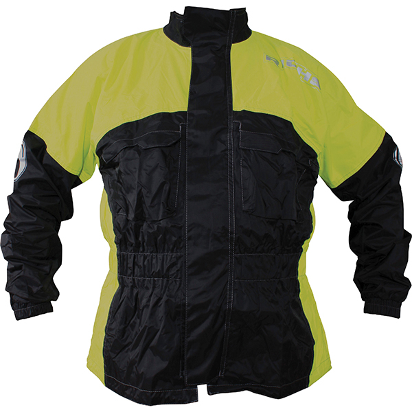 5927-082_rainjk_yl_01-1-3-600-RICHA RAIN WARRIOR WATERPROOF OVER JACKET BLACK FLURO