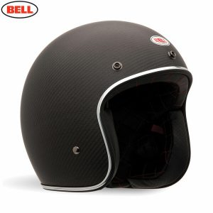 Bell 2021 Cruiser Custom 500 Carbon DLX Adult Helmet (Carbon Matte)