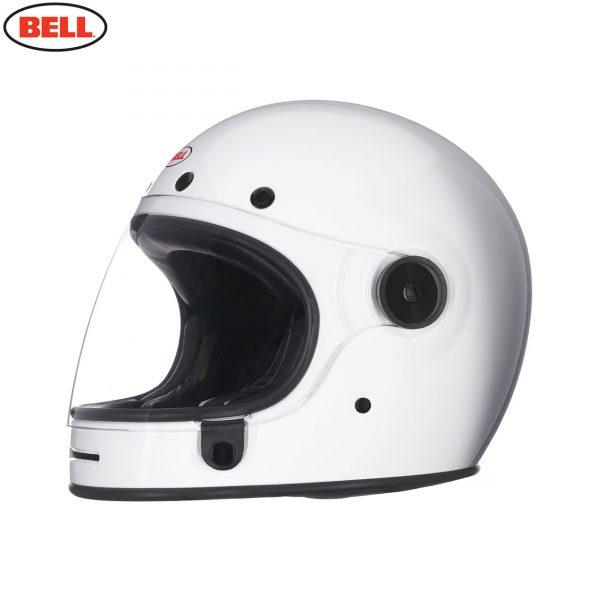BULLITT_SOLID_WHITE_1__71426.jpg-Bell 2021 Cruiser Bullitt DLX Adult Helmet (Gloss White)