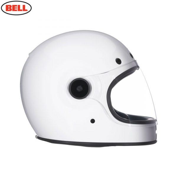 BULLITT_SOLID_WHITE_3__51137.jpg-Bell 2021 Cruiser Bullitt DLX Adult Helmet (Gloss White)