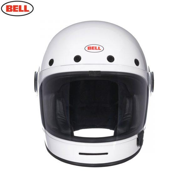 BULLITT_SOLID_WHITE_4__75411.jpg-Bell 2021 Cruiser Bullitt DLX Adult Helmet (Gloss White)