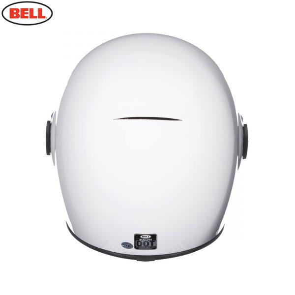BULLITT_SOLID_WHITE_5__51774.jpg-Bell 2021 Cruiser Bullitt DLX Adult Helmet (Gloss White)