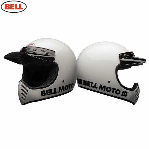 Moto-3_Classic_White_Combo__83184.1476183193.jpg-Bell 2021 Cruiser Moto 3 Adult Helmet (Classic White)