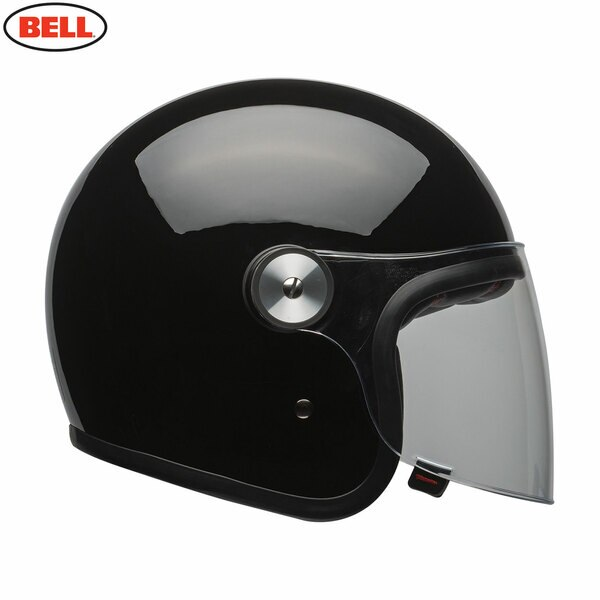 Riot-Solid-Black_1__92330.1541784435.jpg-Bell 2021 Cruiser Riot Adult Helmet (Solid Black)
