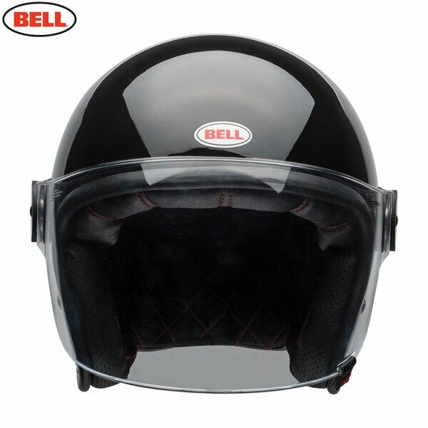 Riot-Solid-Black_2__58524.1485875548.jpg-Bell 2021 Cruiser Riot Adult Helmet (Solid Black)