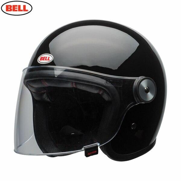 Riot-Solid-Black_3__68646.1485875548.jpg-Bell 2021 Cruiser Riot Adult Helmet (Solid Black)