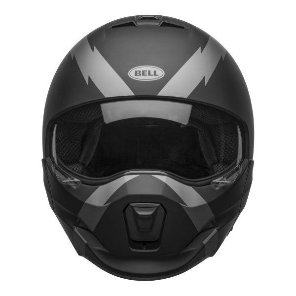 bell-broozer-street-helmet-arc-matte-black-gray-front-clear-shield__32968.jpg-BELL BROOZER ARC MATT BLACK GREY
