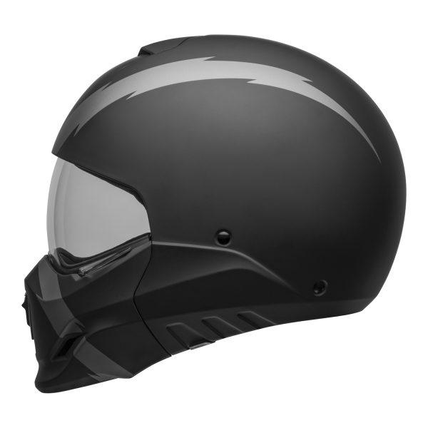 bell-broozer-street-helmet-arc-matte-black-gray-left-clear-shield__83240.jpg-BELL BROOZER ARC MATT BLACK GREY