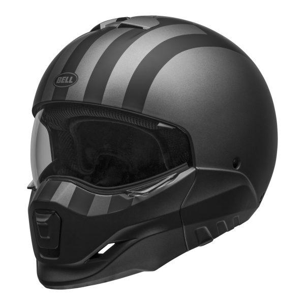 bell-broozer-street-helmet-free-ride-matte-gray-black-front-left-clear-shield__32478.jpg-BELL BROOZER FREE RIDE MATT GREY BLACK
