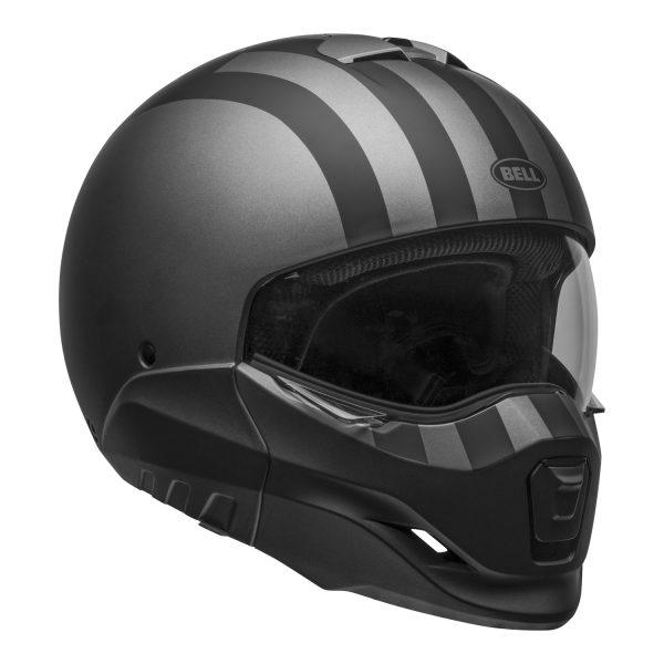 bell-broozer-street-helmet-free-ride-matte-gray-black-front-right-clear-shield__60827.jpg-BELL BROOZER FREE RIDE MATT GREY BLACK