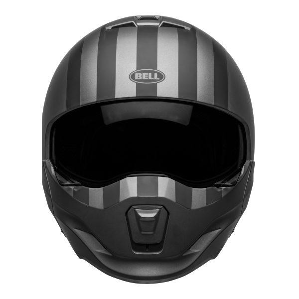 bell-broozer-street-helmet-free-ride-matte-gray-black-front__92186.jpg-BELL BROOZER FREE RIDE MATT GREY BLACK