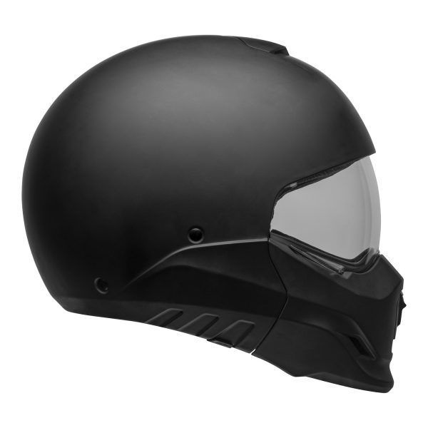 bell-broozer-street-helmet-matte-black-right-clear-shield__41815.jpg-Bell Cruiser 2021 Broozer Adult Helmet (Solid Matte Black)