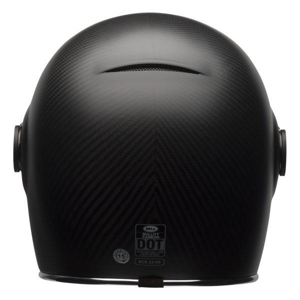 bell-bullitt-carbon-culture-helmet-matte-carbon-back-BELL BULLITT CARBON MATT BLACK