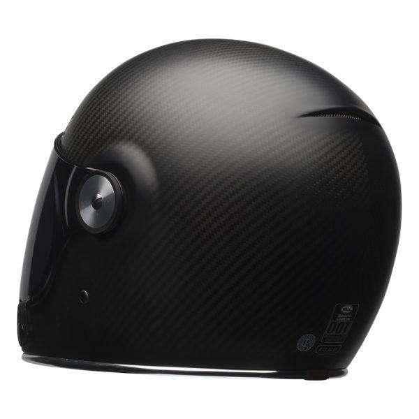 bell-bullitt-carbon-culture-helmet-matte-carbon-back-left-BELL BULLITT CARBON MATT BLACK