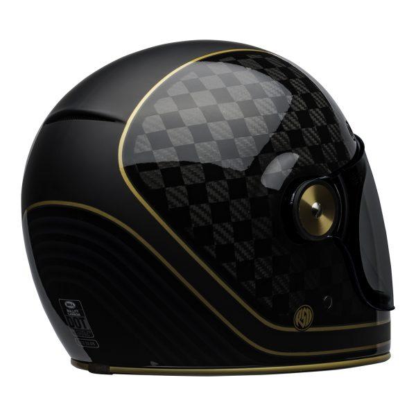 bell-bullitt-carbon-culture-helmet-rsd-check-it-matte-gloss-black-back-right-BELL BULLITT CARBON RSD CHECK IT MATT/GLOSS BLACK GOLD