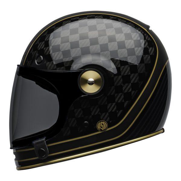 bell-bullitt-carbon-culture-helmet-rsd-check-it-matte-gloss-black-left.jpg-BELL BULLITT CARBON RSD CHECK IT MATT/GLOSS BLACK GOLD
