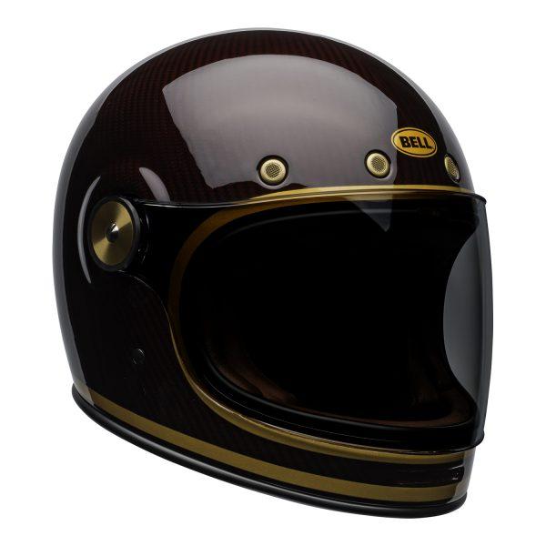 bell-bullitt-carbon-culture-helmet-transcend-gloss-candy-red-gold-front-right.jpg-Bell 2021 Cruiser Bullitt Carbon Adult Helmet (Transend Candy Red/Gold)