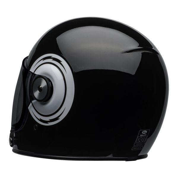 bell-bullitt-culture-helmet-bolt-gloss-black-white-back-left-BELL BULLITT DLX BOLT BLACK WHITE