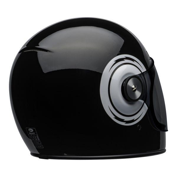 bell-bullitt-culture-helmet-bolt-gloss-black-white-back-right-BELL BULLITT DLX BOLT BLACK WHITE