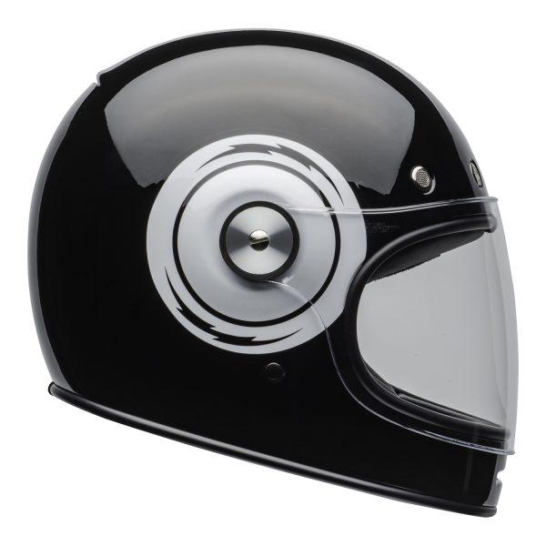 bell-bullitt-culture-helmet-bolt-gloss-black-white-clear-shield-right-BELL BULLITT DLX BOLT BLACK WHITE