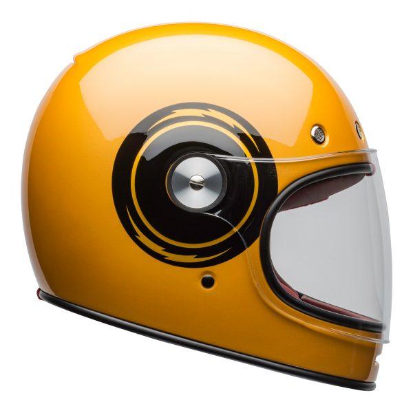 bell-bullitt-culture-helmet-bolt-gloss-yellow-black-clear-shield-right-BELL BULLITT DLX BOLT YELLOW BLACK