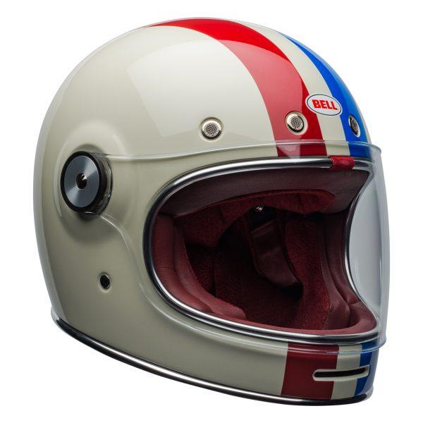 bell-bullitt-culture-helmet-command-gloss-vintage-white-red-blue-front-right-BELL BULLITT DLX COMMAND VINTAGE WHITE RED BLUE