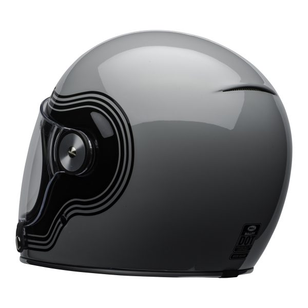 bell-bullitt-culture-helmet-flow-gloss-gray-black-clear-shield-back-left-BELL BULLITT DLX FLOW GREY BLACK