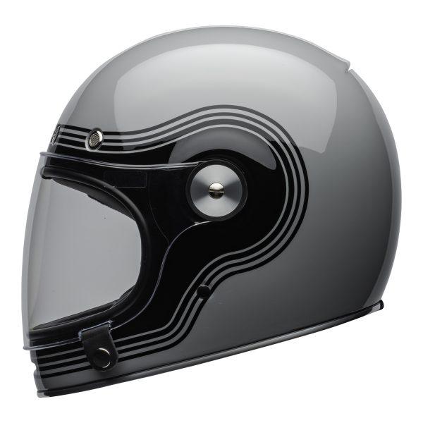bell-bullitt-culture-helmet-flow-gloss-gray-black-clear-shield-left-BELL BULLITT DLX FLOW GREY BLACK