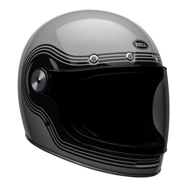 bell-bullitt-culture-helmet-flow-gloss-gray-black-front-right.jpg-Bell 2021 Cruiser Bullitt Adult Helmet (Flow Gray/Black)