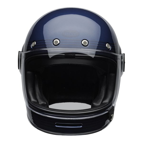 bell-bullitt-culture-helmet-flow-gloss-light-blue-dark-blue-clear-shield-front-BELL BULLITT DLX FLOW LIGHT BLUE / DARK BLUE