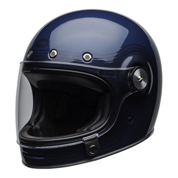 bell-bullitt-culture-helmet-flow-gloss-light-blue-dark-blue-clear-shield-front-left-BELL BULLITT DLX FLOW LIGHT BLUE / DARK BLUE