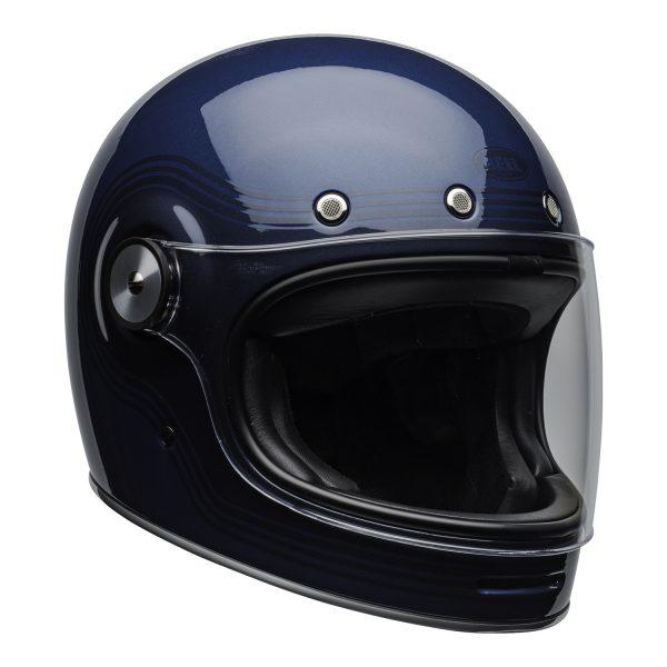 bell-bullitt-culture-helmet-flow-gloss-light-blue-dark-blue-clear-shield-front-right-BELL BULLITT DLX FLOW LIGHT BLUE / DARK BLUE