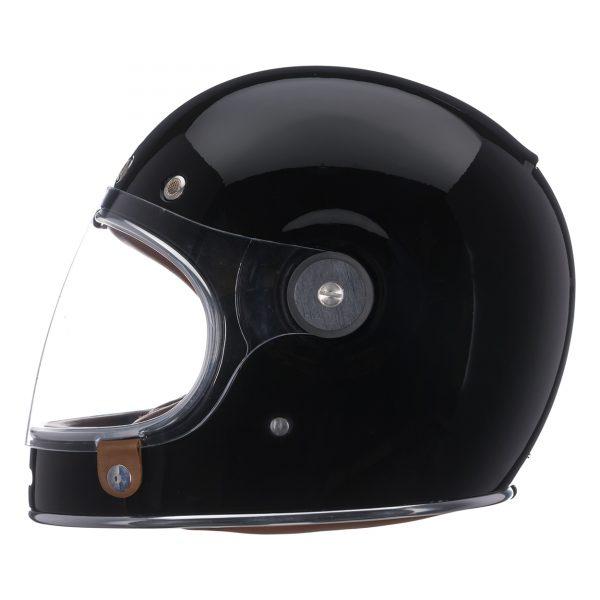 bell-bullitt-culture-helmet-gloss-black-left-BELL BULLITT DLX SOLID GLOSS BLACK